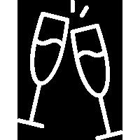 80 flûtes à champagne